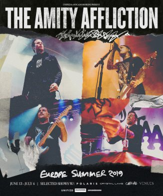 The Amity Affliction flyer